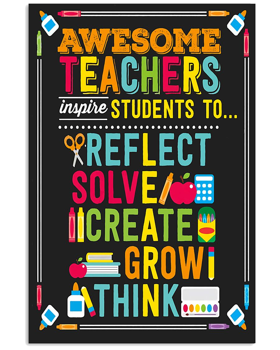 Awesome Teachers 11x17 Poster