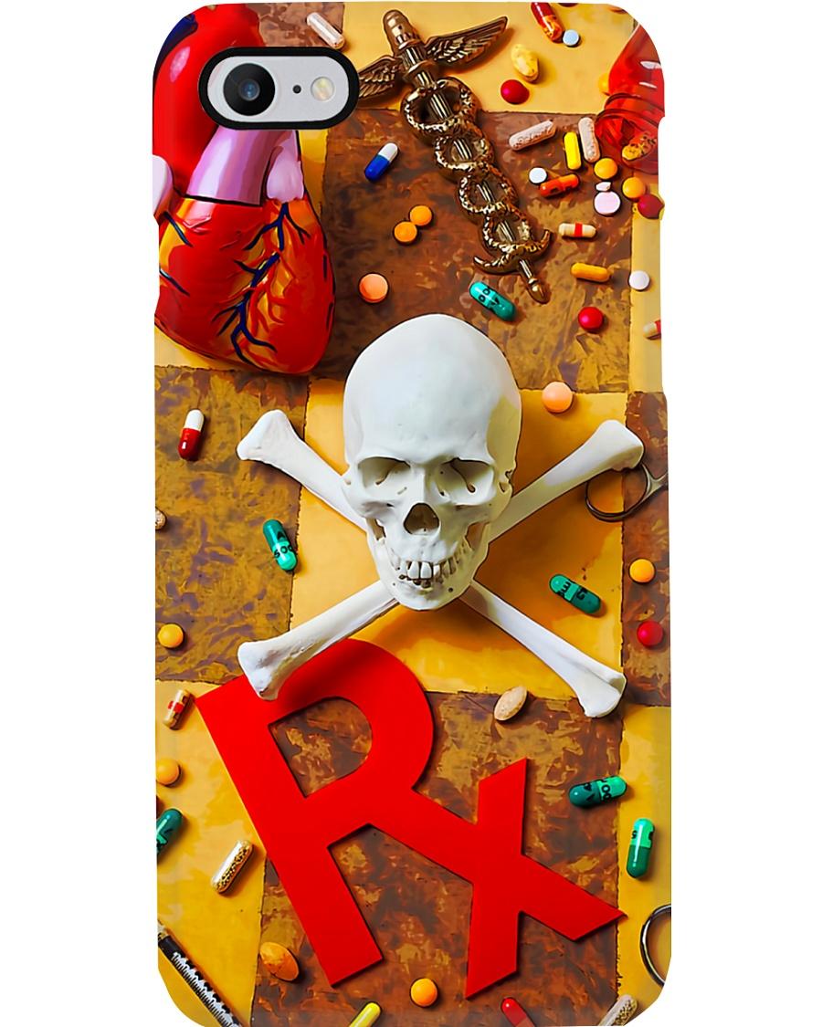 Pharmacist Skull Phone Case