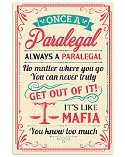 Always A Paralegal 11x17 Poster front