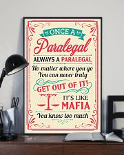 Always A Paralegal 11x17 Poster lifestyle-poster-2
