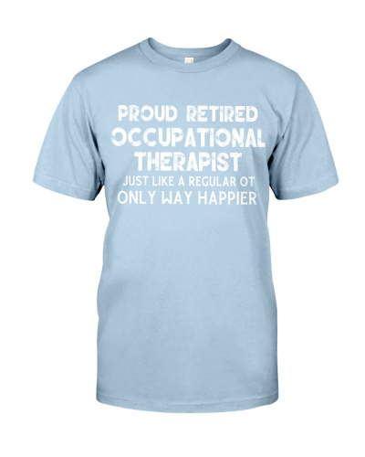 Proud Retired Occupational Therapist