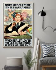 Science Girl 11x17 Poster lifestyle-poster-1