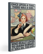 Science Girl 20x30 Gallery Wrapped Canvas Prints thumbnail
