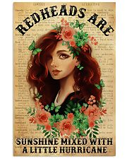 Redheads Are Sunshine  11x17 Poster front
