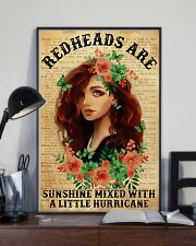 Redheads Are Sunshine  11x17 Poster lifestyle-poster-2