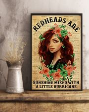 Redheads Are Sunshine  11x17 Poster lifestyle-poster-3