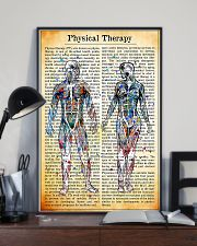 Physical Therapist Vintage Watercolor 11x17 Poster lifestyle-poster-2