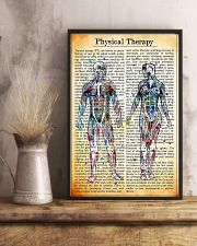 Physical Therapist Vintage Watercolor 11x17 Poster lifestyle-poster-3