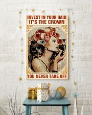 Hairdresser Hair Is The Crown  11x17 Poster lifestyle-holiday-poster-3