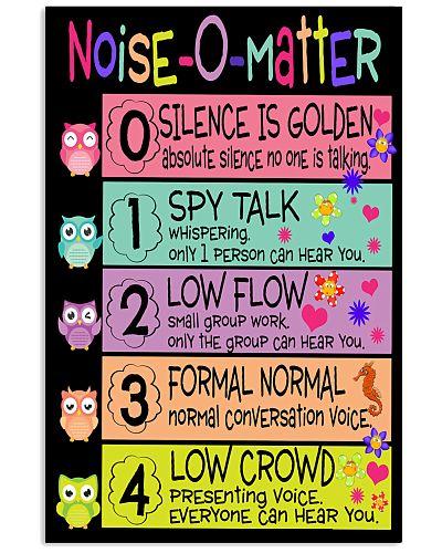 Teacher Noise Matter