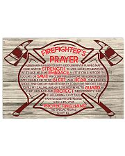 Firefighter When I am called to duty 36x24 Poster front
