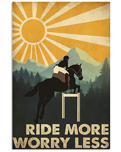 Horse Girl Ride More Worry Less