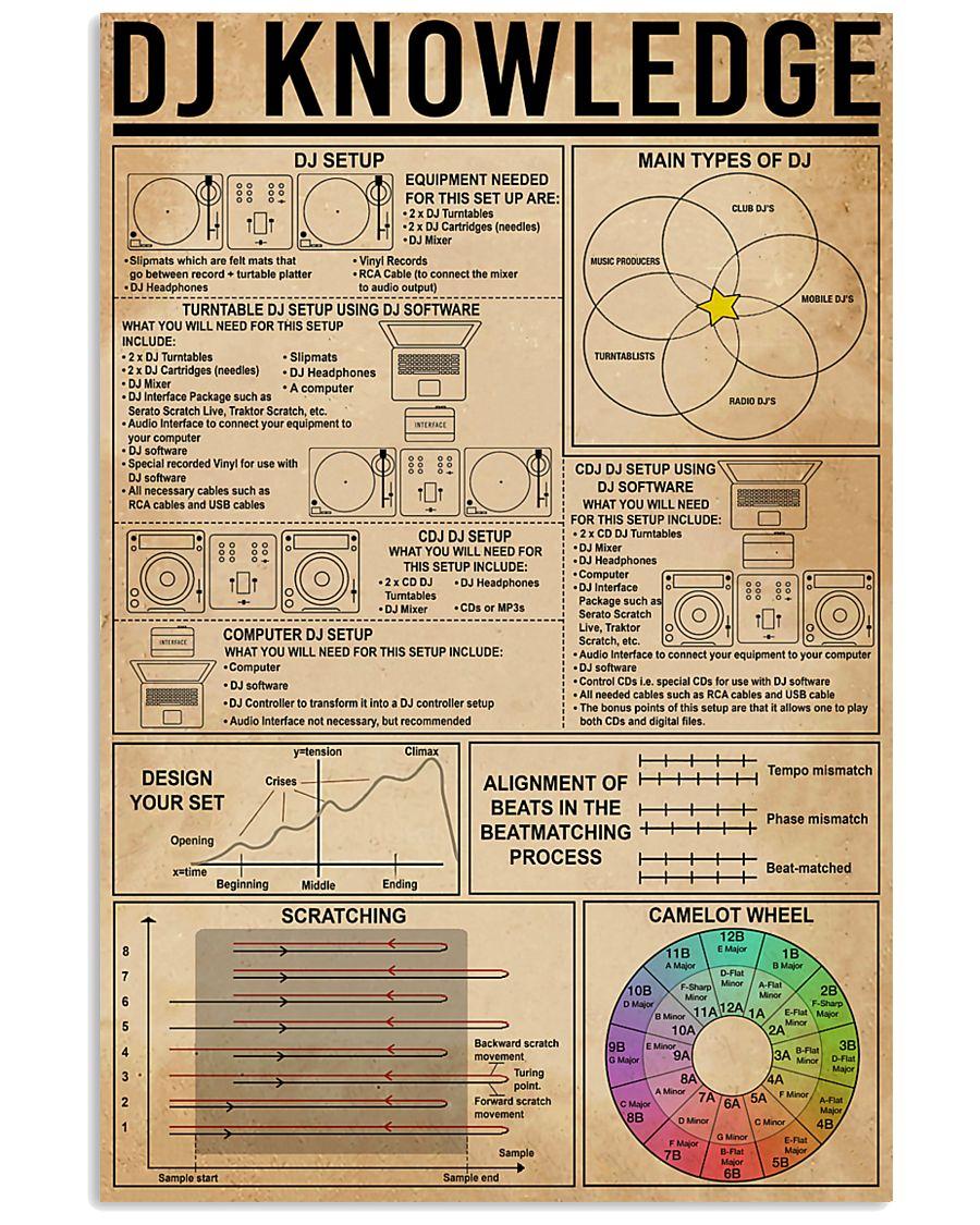 DJ Knowledge 11x17 Poster