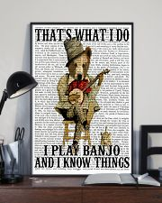 Play Banjo And Know Things 11x17 Poster lifestyle-poster-2