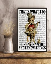 Play Banjo And Know Things 11x17 Poster lifestyle-poster-3