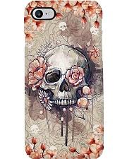 Radiologist Rose Skull Phone Case i-phone-7-case