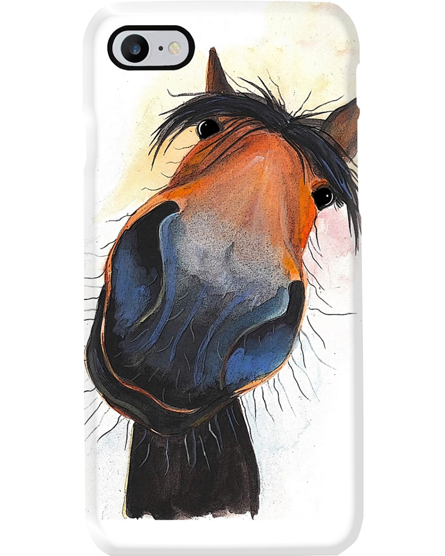 Horse Girl Happy Horse Gift Phone Case