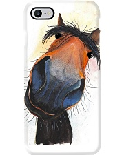 Horse Girl Happy Horse Gift Phone Case i-phone-7-case