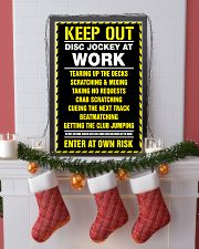 Keep out DJ at work 11x17 Poster lifestyle-holiday-poster-4