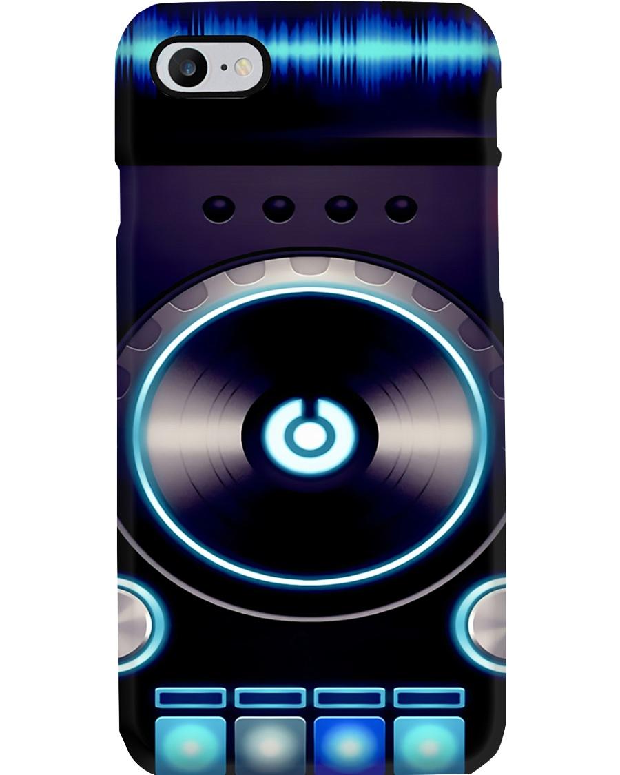 DJ Blue Vinyl Turntable Phone Case