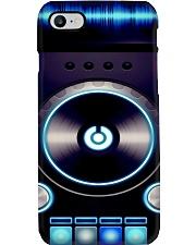 DJ Blue Vinyl Turntable Phone Case i-phone-7-case