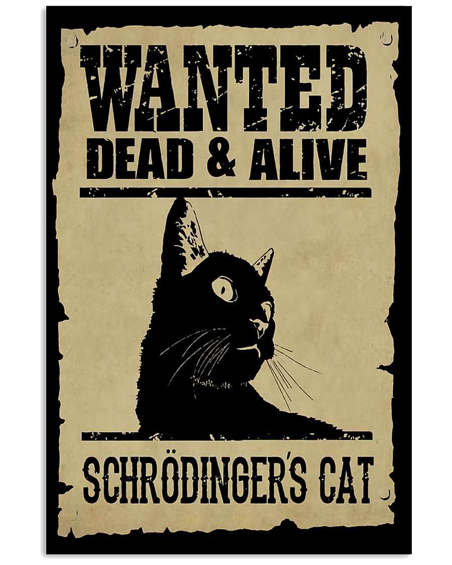 Science Wanted Dead And Alive  11x17 Poster