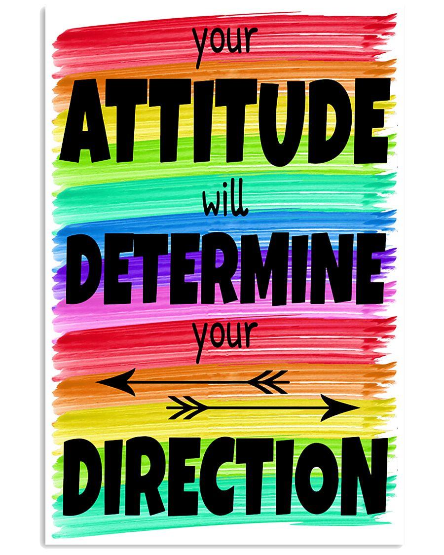 Teacher Your Attitude 11x17 Poster