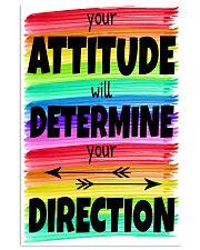Teacher Your Attitude 11x17 Poster front