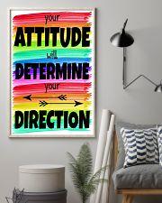 Teacher Your Attitude 11x17 Poster lifestyle-poster-1