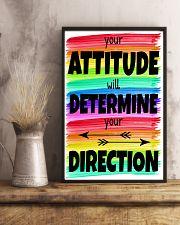 Teacher Your Attitude 11x17 Poster lifestyle-poster-3
