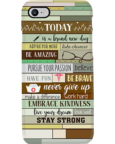 Nurse Today Is A Brand New Day