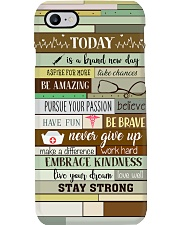 Nurse Today Is A Brand New Day Phone Case i-phone-7-case