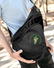 Veterinary Technician Symbol Slinging pack Sling Pack garment-embroidery-slingpack-lifestyle-08