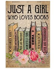 Book Lover Just A Girl Who Loves Books 11x17 Poster front