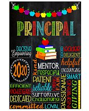 Teacher Principal 11x17 Poster front
