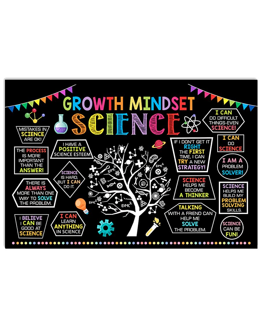 Science Growth Mindset 17x11 Poster