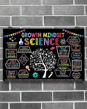Science Growth Mindset 17x11 Poster poster-landscape-17x11-lifestyle-18