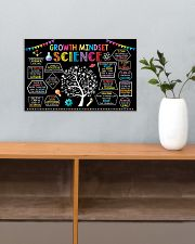 Science Growth Mindset 17x11 Poster poster-landscape-17x11-lifestyle-24