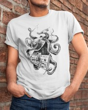 Octopus Synthesizer Classic T-Shirt apparel-classic-tshirt-lifestyle-26