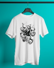 Octopus Synthesizer Classic T-Shirt lifestyle-mens-crewneck-front-3