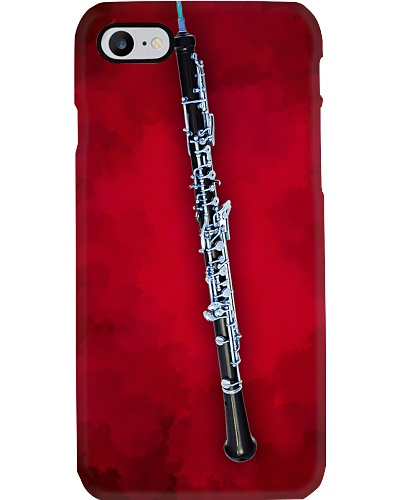 Oboe on red