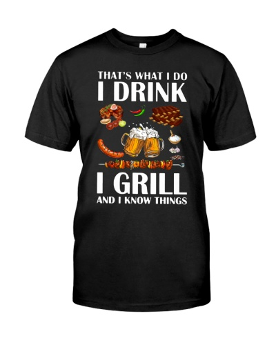 Chef - I drink and grill