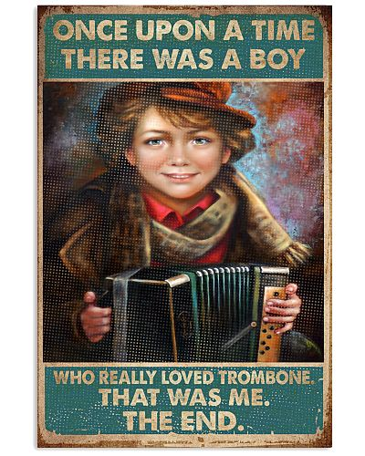 Accordion A Boy Really Loved Trombone That Was Me