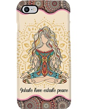 Yoga -  Inhale Love And Exhale Peace Phone Case i-phone-7-case