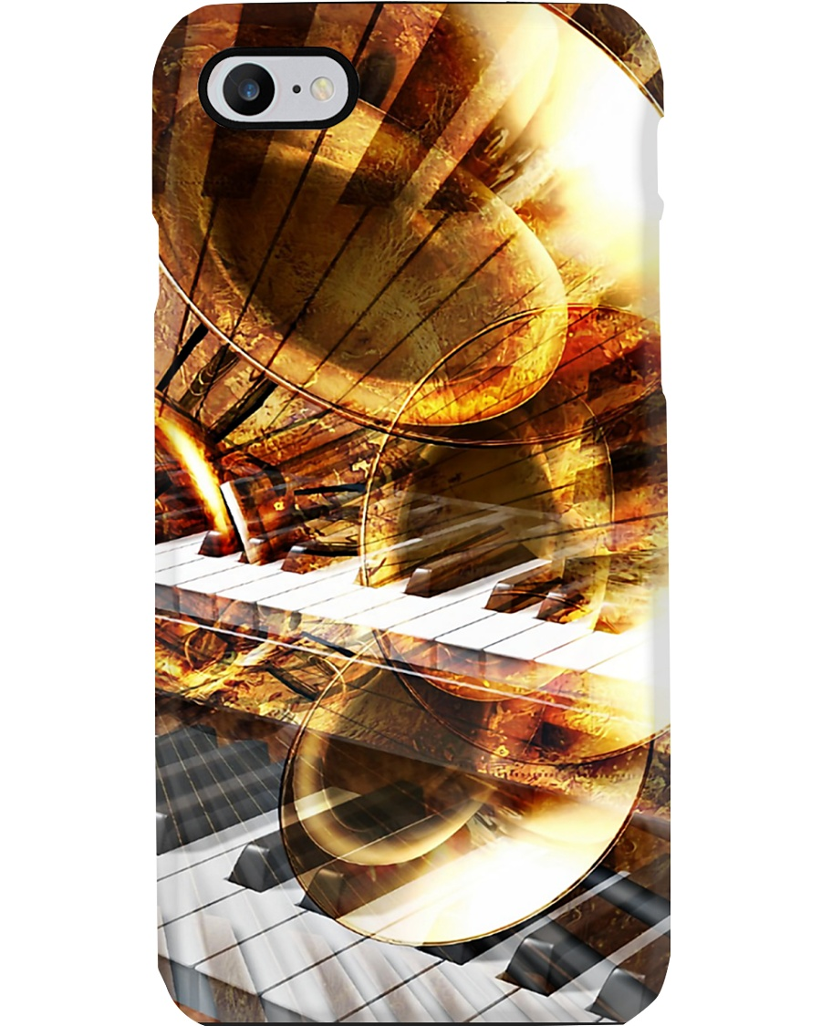 Trumpet in sunshine Phone Case