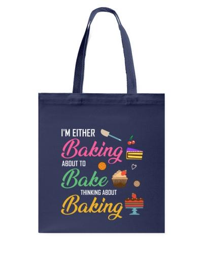 Baker bake thinking about baking
