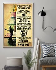 Today Is Good Day Guitar 11x17 Poster lifestyle-poster-1
