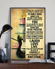 Today Is Good Day Guitar 11x17 Poster lifestyle-poster-2