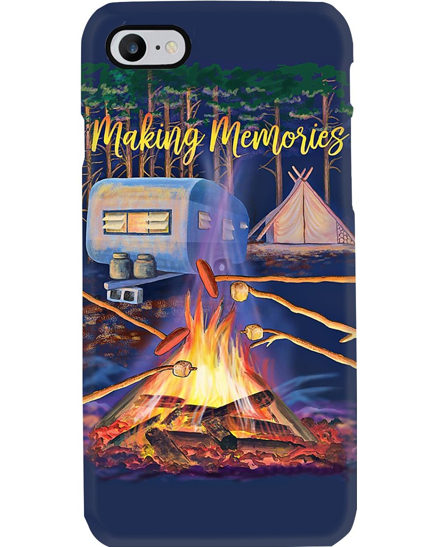 Campers Making Memories Phone Case