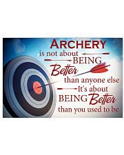 Archer It's About Being Better Than You Used To Be 17x11 Poster front